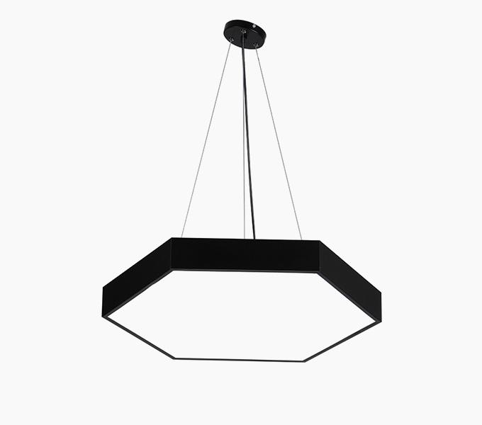 六边形LED异形吊线灯