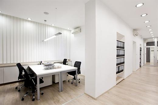 办公室灯光案例